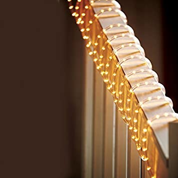 Celebrations Clear PVC Rope Lights with 216 Lights  18 Feet  Clear   2. Amazon com  Celebrations Clear PVC Rope Lights with 216 Lights  18