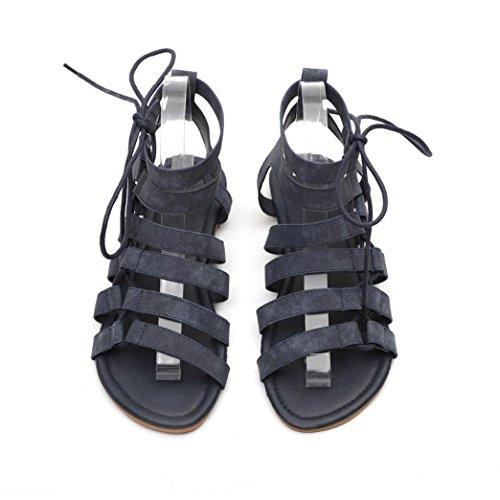 fc4772edfffa8 De alta calidad PAOLIAN Sandalias de Vestir para Mujer Verano 2018 Playa  Talla Grande Romano Sandalias