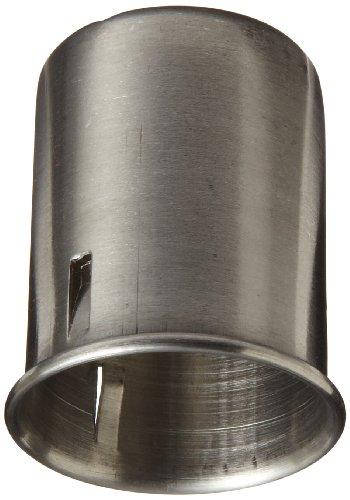 Chemglass CLS-1502-025 Stainless Steel Closure, 25mm Diameter (Pack of 10)