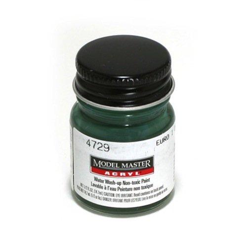 TESTORS CORPORATION 4729 Euro I Dark Green FS34092 Model Master, 1/2 oz