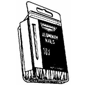 Nichols Wires Common Nails 3 '' 0.177 '' Aluminum Box 1/4 Lb.