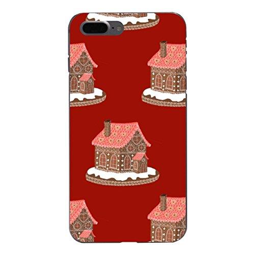 "Disagu Design Case Schutzhülle für Apple iPhone 7 Plus Hülle Cover - Motiv ""Lebkuchenhaus - Rot"""