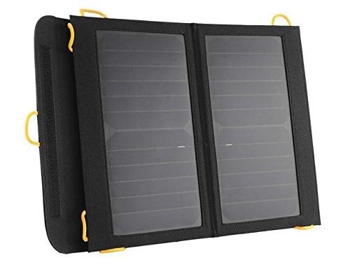 Emperor of Gadgets USBデバイスのポータブルソーラーバッテリー充電器 - 13ワットソーラー充電パネルと5000mAに電源銀行が含まれていますの商品画像