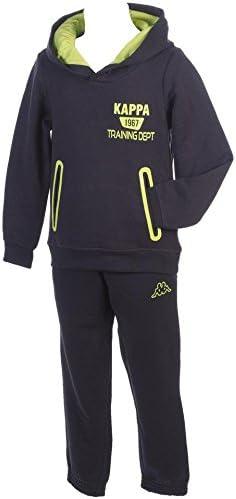 Kappa - Conjunto deportivo - traje - para niño, azul marino / azul ...