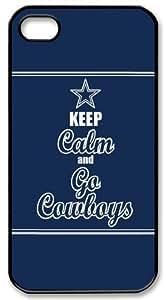 Dallas Cowboys iPhone 5/5S Case Keep Calm and Go Cowboys iPhone 5/5S Case Cover