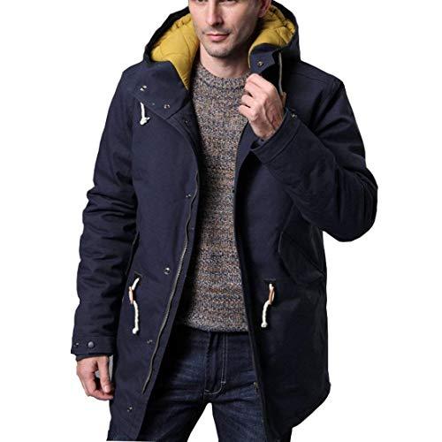 Blau Manteau Capuche D'hiver En Veste Adelina À Coton 4qCvn