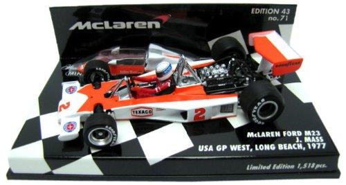 Minichamps – 530774392 – Fahrzeug Miniatur – mc-laren Ford M23 – Texaco – US GP 1977 – Maßstab 1/43