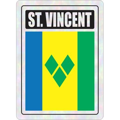 St Vincent FNG Car Prismatic Decals Stickers - 1 - Style St Vincent