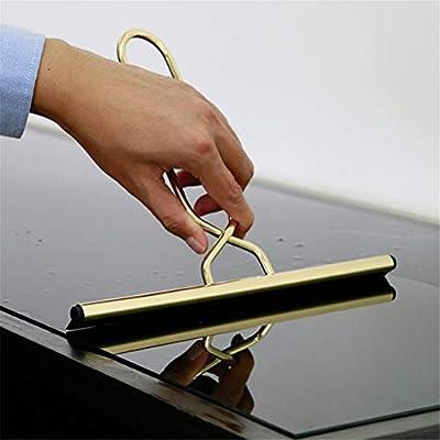 GFYWZ Escobilla limpiacristales de Acero Inoxidable para mampara de Ducha, para Cocina, Coche, Espejo, Puerta de Ducha, Azulejos, Cristal: Amazon.es: Hogar