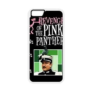 La Venganza de los 4.7 pulgadas Caso Pantera Rosa alta resolución Cartel iPhone 6 del teléfono celular funda blanca del teléfono celular Funda Cubierta EEECBCAAL77325