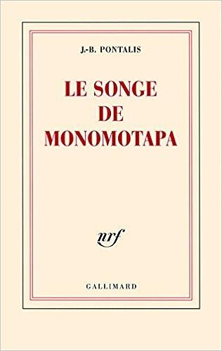 Livre Le songe de Monomotapa pdf