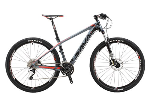 "SAVADECK DECK300 Carbon Fiber Mountain Bike 26""/27.5""/29"" Complete Hard Tail MTB Bicycle 30 Speed SHIMANO M610 DEORE Group Set"