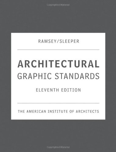 Download Architectural Graphic Standards, 11th Edition [Hardcover] [2007] 11th Ed. The American Institute of Architects pdf