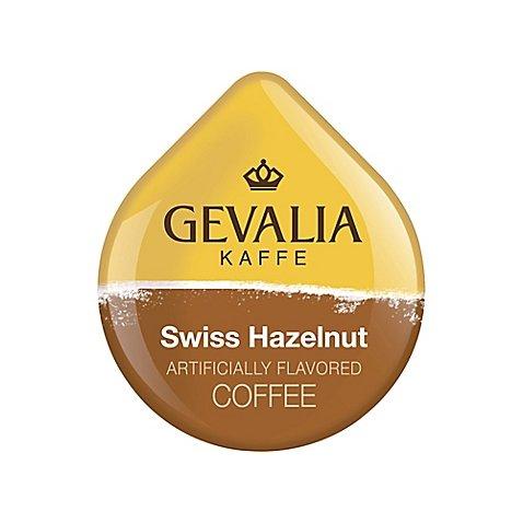 Tassimo Gevalia Swiss Hazelnut Coffee, 16 T-discs