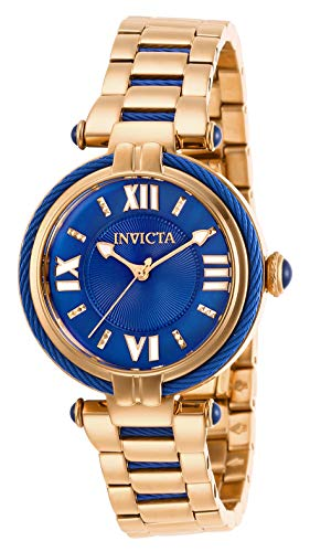 Invicta Women's Bolt Quartz Watch with Stainless Steel Strap, Rose Gold, 14.1 (Model: ()