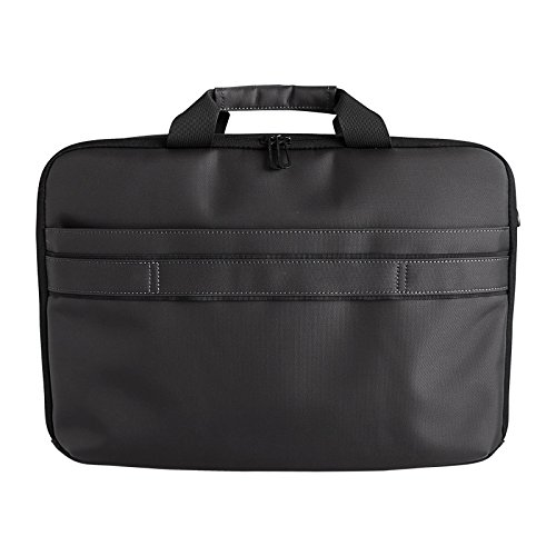 HANERGY Thin Film Solar Powered 8W Laptop Computer Case Electronics Business Shoulder Bag Notebook MacBook iPad Protective Case with Handle & Accessory Pocket (Black) by HANERGY (Image #5)