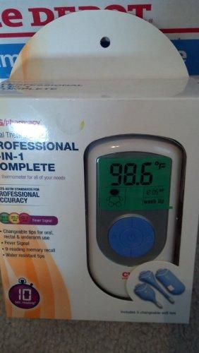 Thermomètre numérique CVS PROFESSIONNEL 3 EN 1 COMPLELE