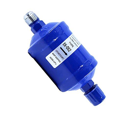 MonkeyJack BiFlow filter drier For Heat pump EK-052 1/4 SAE Sweat-Liquid Line Bi-Flow