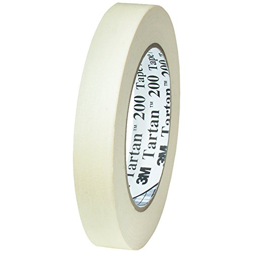 3M T93420012PK Masking Tape, 3/4