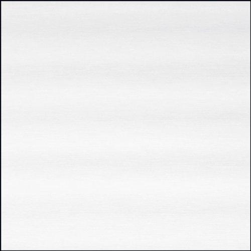 Gardinia 5485 Flächenvorhang Flame inklusiv Aluminium Unterprofil, von unten einkürzbar, 60 x 300 cm, weiß