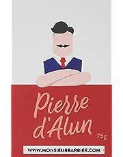 Monsieur Barbier Echte Alaunstein natuur/biologisch voor aftershave heren