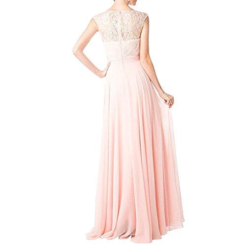 Langes Ballkleider Neu Brau Abendkleider Spitze Festlichkleider La Lilac mia Promkleider Formalkleider Brautmutterkleider qYpaE