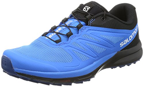Salomon Sense Pro 2 Trail Running Shoe - Men's Indigo Bunting/Black/Snorkel Blue 9 (Tennis Mens Shoes Pro)