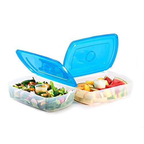 Mr Lid Premium Food Storage Container, Gallon 128oz