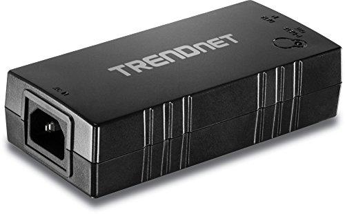 TRENDnet Gigabit Power over Ethernet Plus (PoE+) Injector,Converts non-PoE Gigabit to PoE+ or PoE Gigabit, Network Distances up to 100 M (328 Ft.), TPE-115GI
