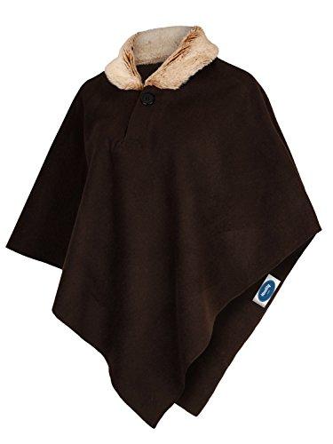 Xxl 4tuality® collo Marrone con Poncho S di pelliccia Taglia 6r60xqw