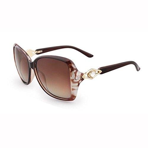Sol Anti Hembra Redonda Retro Moda Beat WX Viaje De 3 xin Gafas 4 UV Street Gafas Cara Polarizador Color fqwt8gz8