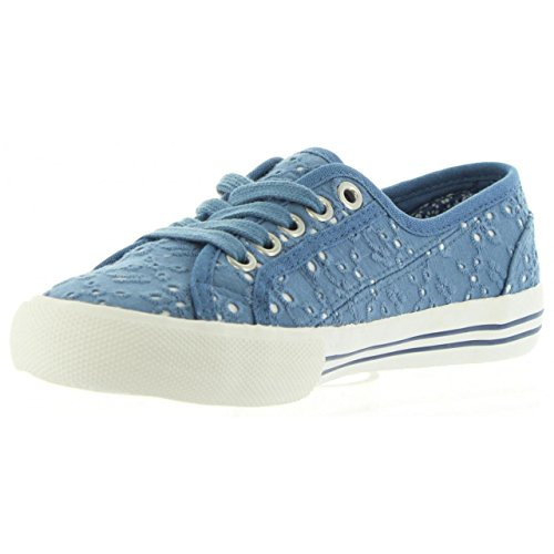Basses Tie Sneakers Fille Pepe Baker Dye Jeans ngP7xSWX