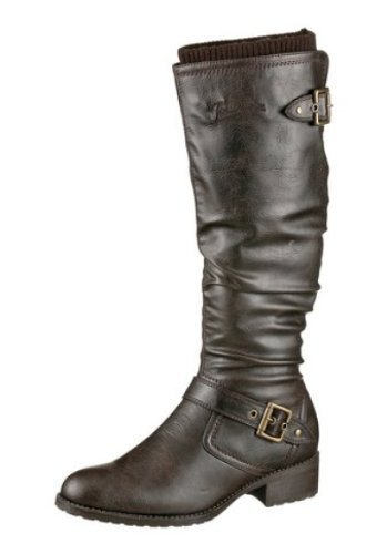 Joe Browns Stiefel - Náuticos de cuero sintético Mujer marrón - Marrón-marrón