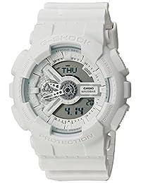 Casio GA110BC-7A Men's G-Shock Ana-Digi Grey Dial White Resin Strap Alarm Dive Watch