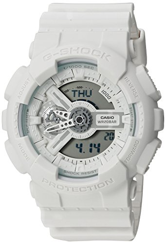 G Shock Unisex GA 110BC 7ACS White Watch