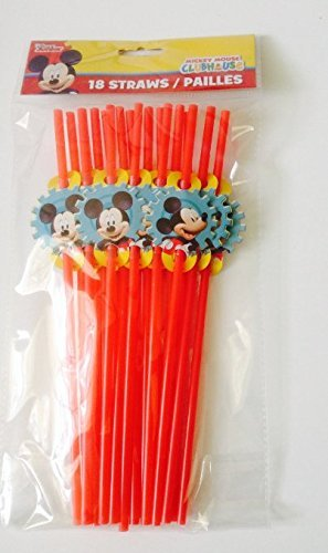 (Disney Disney Jr. Mickey Mouse Clubhouse Party Favor Straws 18/pk)