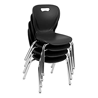 amazon com learniture shapes series school chair 14 seat height