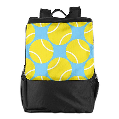 Tennis Shoulder Travel Outdoors HSVCUY Camping Storage For Dayback Women School And Personalized Backpack Adjustable Strap Yellow Men wC04z