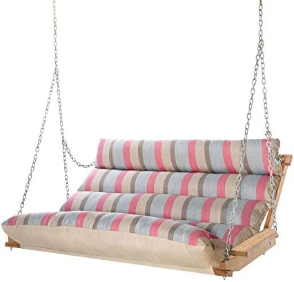 Hatteras Hammocks Sunbrella Deluxe Cushion Swing – Gateway Indigo