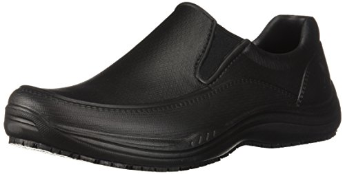 Skechers Men's Brushten Health Care Professional Shoe, Black Molded eva, 12 M US