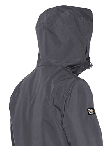 Track Grey Elite Charcoal Windcheater 6q4 Jacket Superdry Men's dark B7wgtt
