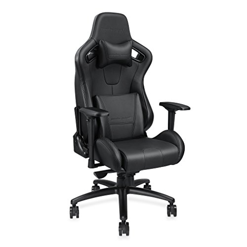 41EoRS 1aML - [Large Size Big and Tall 400lb Premium Gaming Chair]Anda Seat Dark Knight Series High-Back Ergonomic Computer Desk Office Chair with Carbon Fiber Leather,Adjustable Headrest and Lumbar Support(Black)