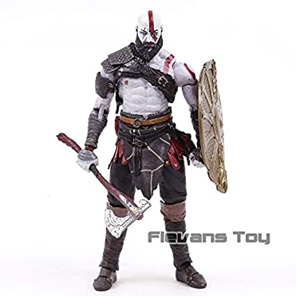 God of War 4 Kratos 2018 New PVC Action Figure Collectible Model Toy