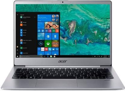 (Renewed) Acer Swift 3 Core i3 8th Gen – (4 GB/256 GB SSD/Windows 10 Home) SF313-51-30EP Thin and Light Laptop(13.3 inch, Sparkly Silver, 1.3 kg)