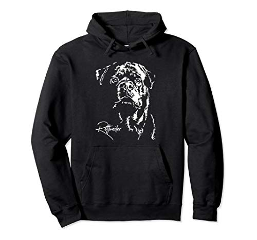 - Funny Proud Rottweiler Hoodie dog Pullover gift Rottie