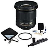 Nikon Nikkor 20mm f/1.8G AF-S ED Lens Bundle. USA. Value Kit with Accessories