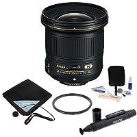 Nikon Nikkor 20mm f/1.8G AF-S ED Lens Bundle. USA. Value Kit with Accessories