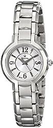 Bulova Women's 96L147 Dress Classic Round Stainless Steel Watch