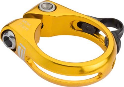 Cycle Group PX-SC14DP349-GD Promax DP-1 Dropper Seatpost Clamp, Gold