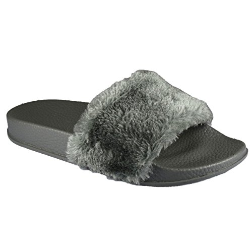 Shoesdays Shoesdays Damen Grau Toes Peep Damen rqrwaC8